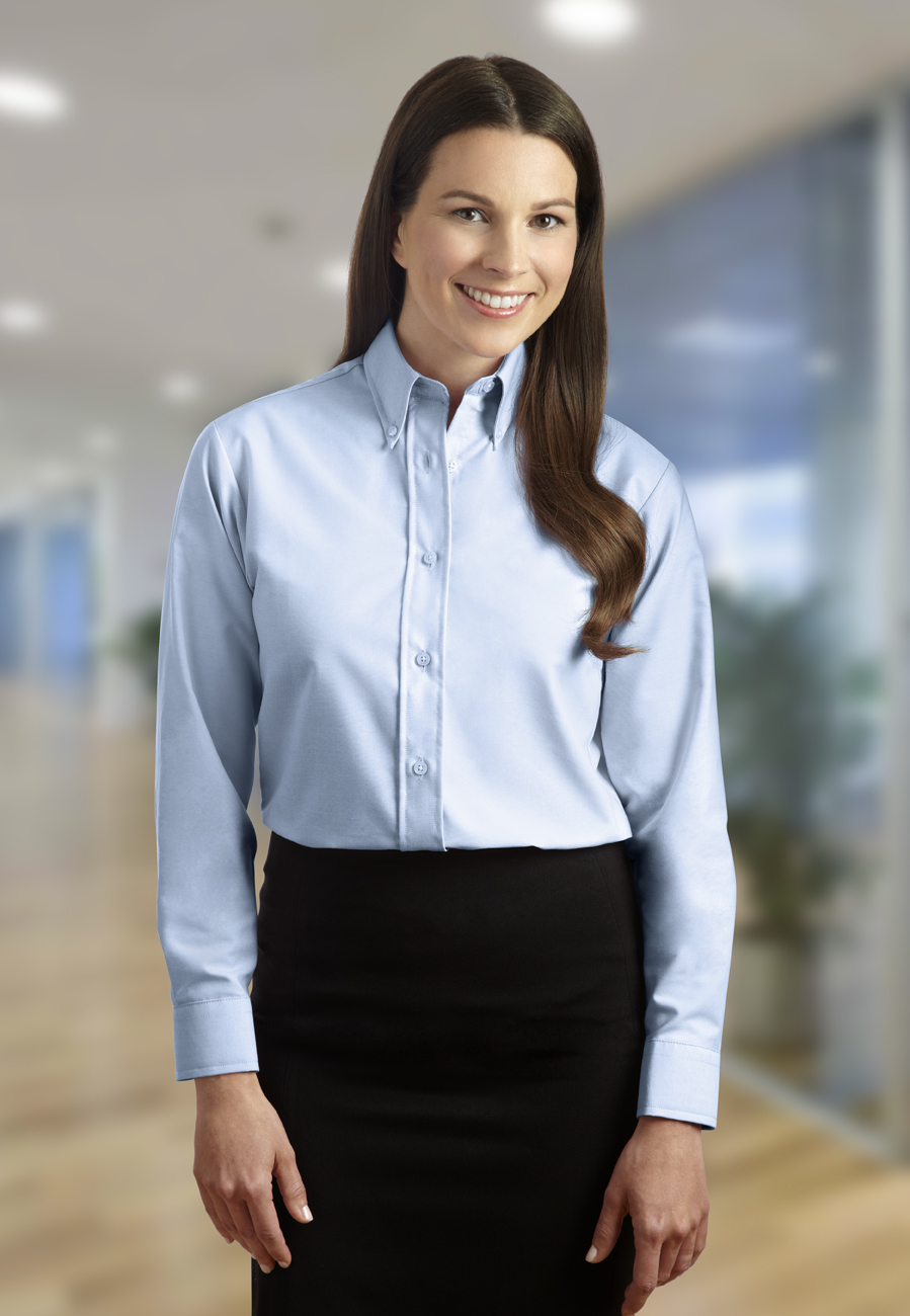 Womens No Iron Oxford Shirts Lauren Goss